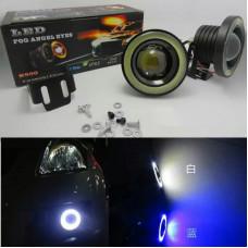 Additional headlights DRL automotosvet angel eyes drl 64mm