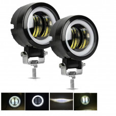 Additional headlights with angel eyes price for 1 piece