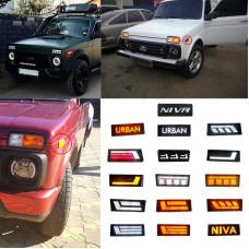 LED TURNS FOR LADA URBAN 4X4 VAZ 21213, 21214, 2131