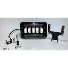 75 watt.Price for 1pc Headlights niva 2121 vaz 2101 vaz gaz groove uaz volga led led headlights inches