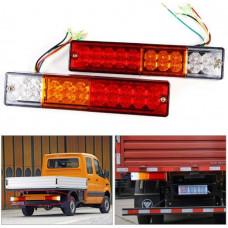 Car LED Brake Light / Turn Signals / Dimensions / Led Rear Lamp Trailer Trailer Lights