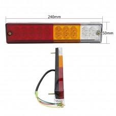Price for 2pcs led brake light / turn signals / dimensions / led tail light trailer lights for trailer
