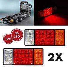 12-24v Car LED Brake Light / Turn Signals / Dimensions / Led Rear Lamp Trailer Lights