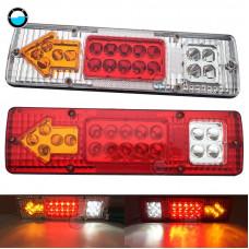 12-24v LED brake light / turn signals / dimensions / led rear light trailer lights for trailer