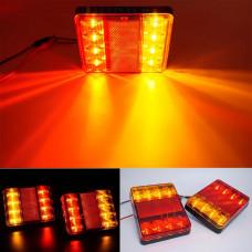 Car LED brake light / turn signals / dimensions / led rear lamp of the trailer lights for the trailer