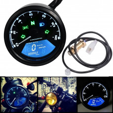 Universal speedometer for 2-4 cylinders