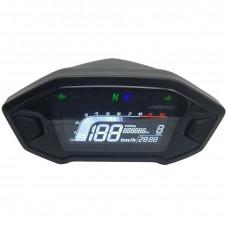 Universal speedometer for different wheel sizes