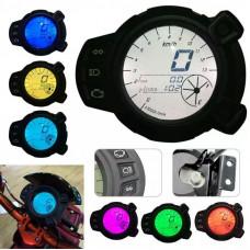 13000 RMP LCD Speedometer Tachometer For Yamaha Zuma BMK X125 YW125 Speedometer For Yamaha BWS 7 Colors