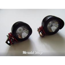 Additional LED headlights