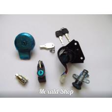 Set of locks Yamaha XV 250, Lifan LF250, QJ 250-H