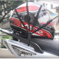 Spider mesh for helmet