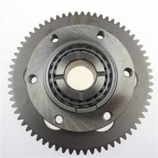 Clutch gear with freewheel Yamaha XV 250, QJ 250-H