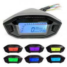 Universal Moto Speedometer Street