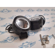 Additional headlights for a motorcycle ATV 2