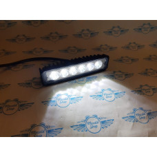 Additional LED headlight for motorcycle