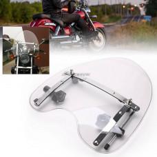 Универсальное ветровое стекло на мотоцикл чоппер круизер