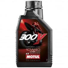 Oil Motul 300V 4T FACTORY LINE SAE 10W40 (1L)